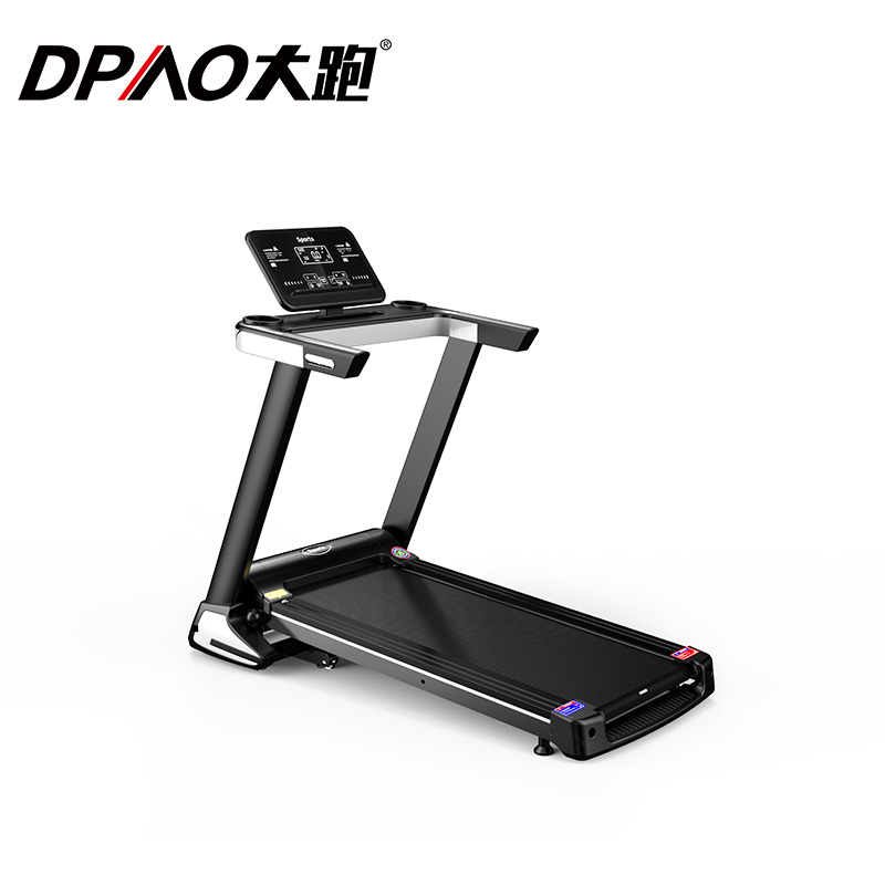 A9 Black Screen Single Function Treadmill