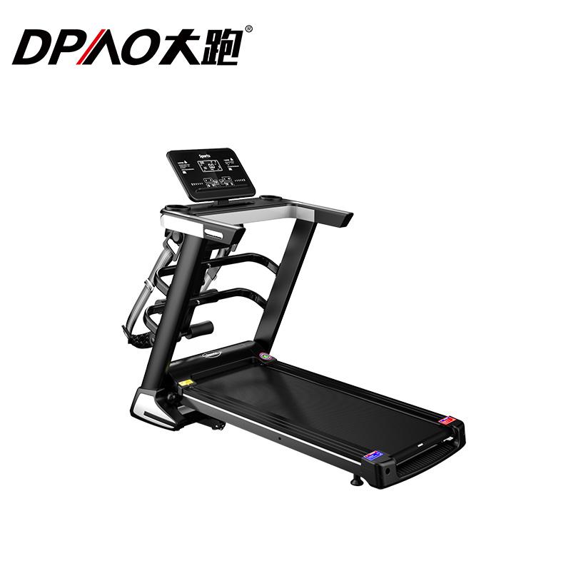 A9 Black Screen Multi-function Treadmill